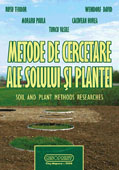 Metode de cercetare ale solului si plantei / Soil and plant methods researches